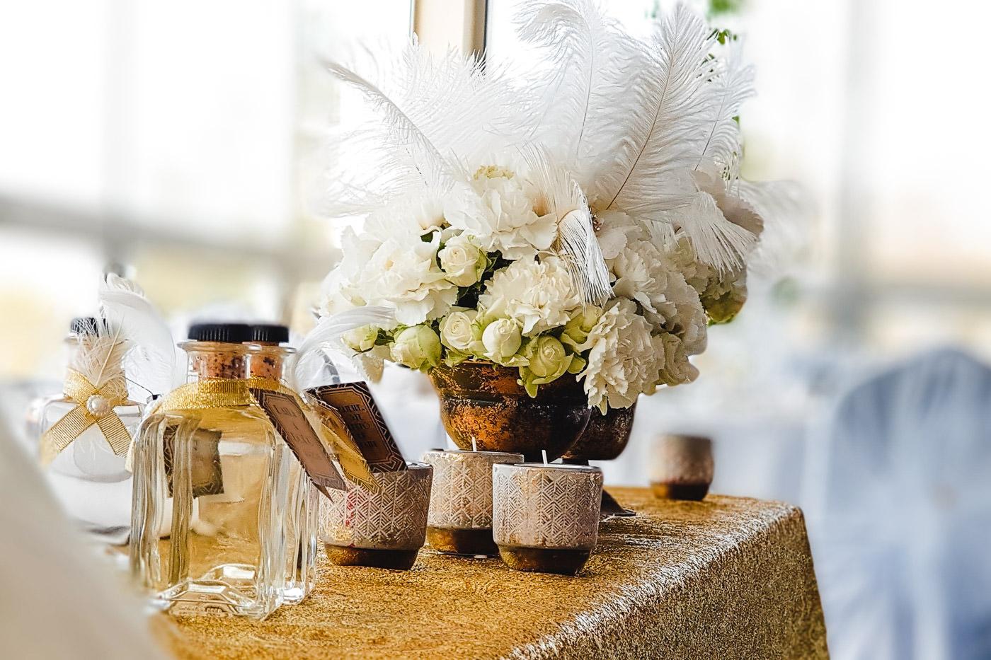 Susan&Sis decor - svadobná výzdoba a dekorácie svadieb a eventov - svadba v style velky gatsby